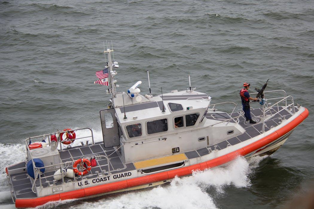 Båt för kustbevakning